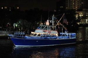 Winterfest- desfile de Barcos